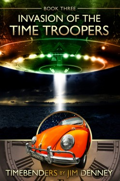 Invasion of Time Troopers Ebook Cover